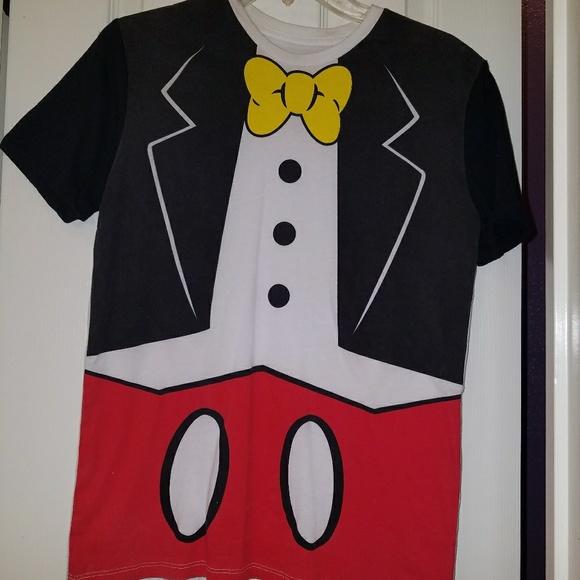 72f3ff38596f Disney Shirts | Mickey Mouse Tuxedo Shirt | Poshmark